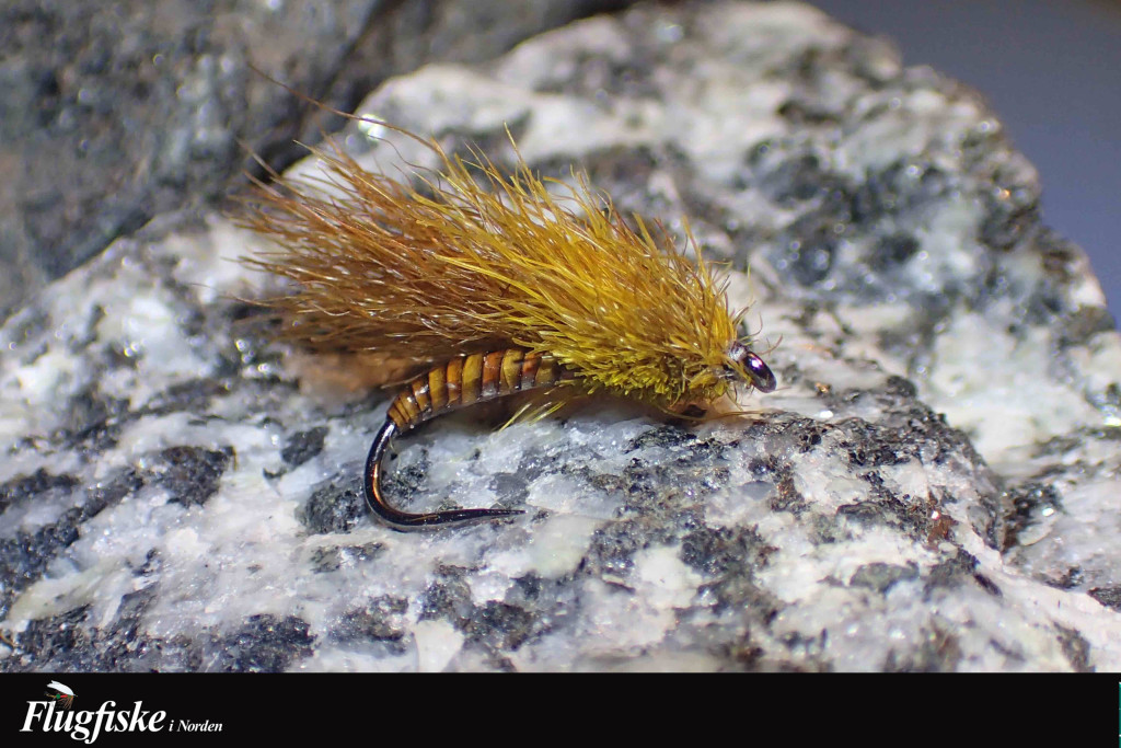 Se där… en härligt rufsig liten fiskefluga klar till drabbning.