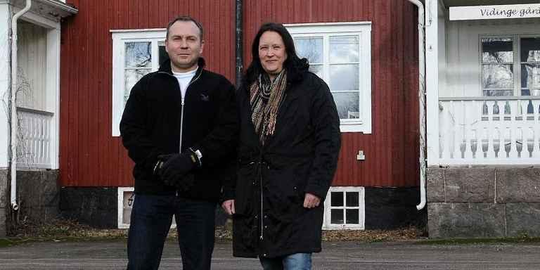 Johan och Eva-Lena Philip Foto: Lillian Petrovski